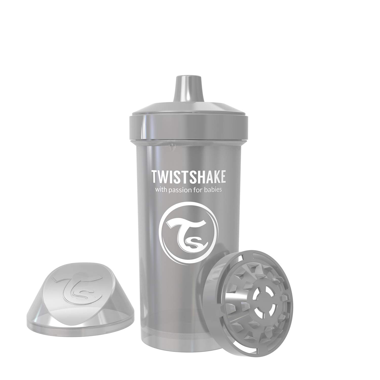 Twistshake Popular brand in the world Kid Cup 360ml 12oz Plastic Fruit Sippy Cups Limited Special Price Clear I