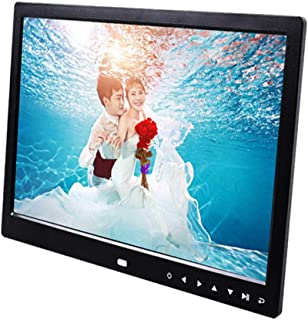 Digital Photo Frame 13 inch IPS High Resolution Widescreen Electronic Photo Frame 1280 * 800 Support MP3 MP4 Videos, Pictu...