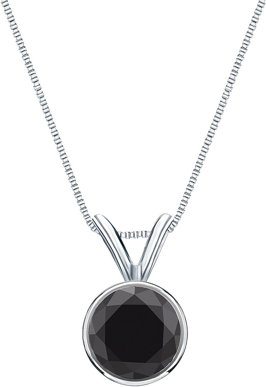 IGI Certified Platinum Bezel Round Diamond Solitaire Over sold out item handling Black Penda