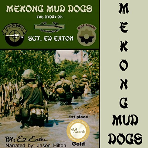 Mekong Mud Dogs audiobook cover art