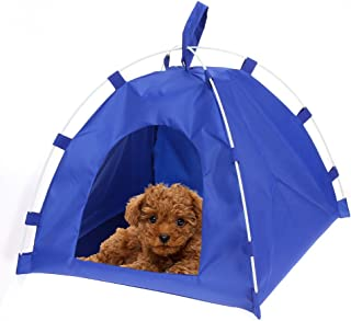 Linker Wish Dog House Indoor Waterproof Oxford Pets House Dog Cat Playing Bed Small Dog Puppy Portable Folding Kennel