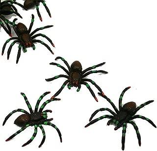 U.S. Toy Painted Spiders : Package of 12, Black