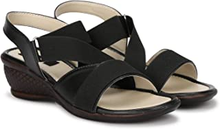 Dymo Cherry Color Latest Collection, Comfortable & Stylish Wedges Sandals for Women's and Girl's