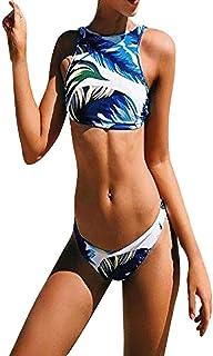 (プタス)Putars 女性のツリープリント水着セクシーなワンピース水着ドレス水着ビキニ