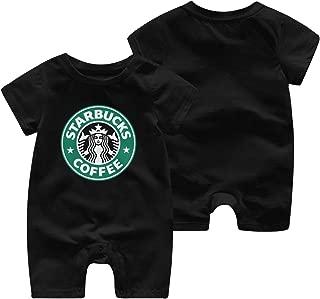 Kids Boys' Girls' Classic Logo T Shirt Newborn Bodysuits Tee Shirts Short Sleeve Clothes T-Shirt Black