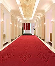 Comfortable Doormat Rugs Entrance Mats Can Be Cut Super-Absorbent Non-Slip Mats Stairs, Corridors Aisle Red Carpet Doormat...