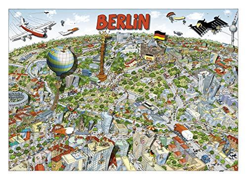 2balle Wusel Puzzle Sonderangebot in der Tüte - Berlin 500 Teile Designer Bernd Natke