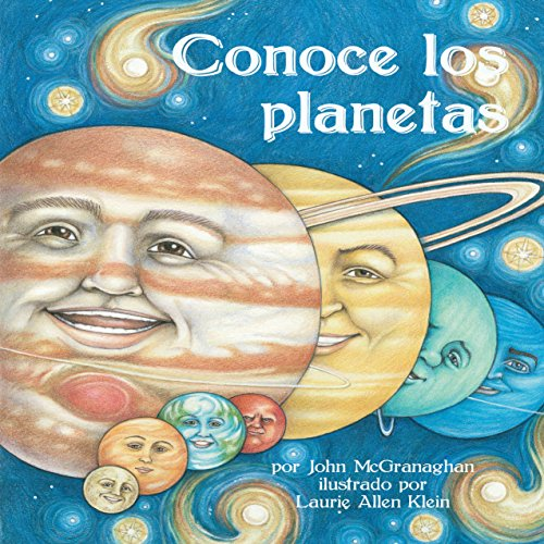 Conoce los Planetas [Meet the Planets] audiobook cover art