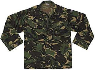 European Military British Woodland Camouflage Combat Jacket