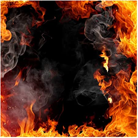 Artistic Fire Angle Wings Backdrop Vinyl 10x7ft Child Kids Adult Portrait Photography Background Special Effects Novelty Design Bibel School Event Video Show Studio Props