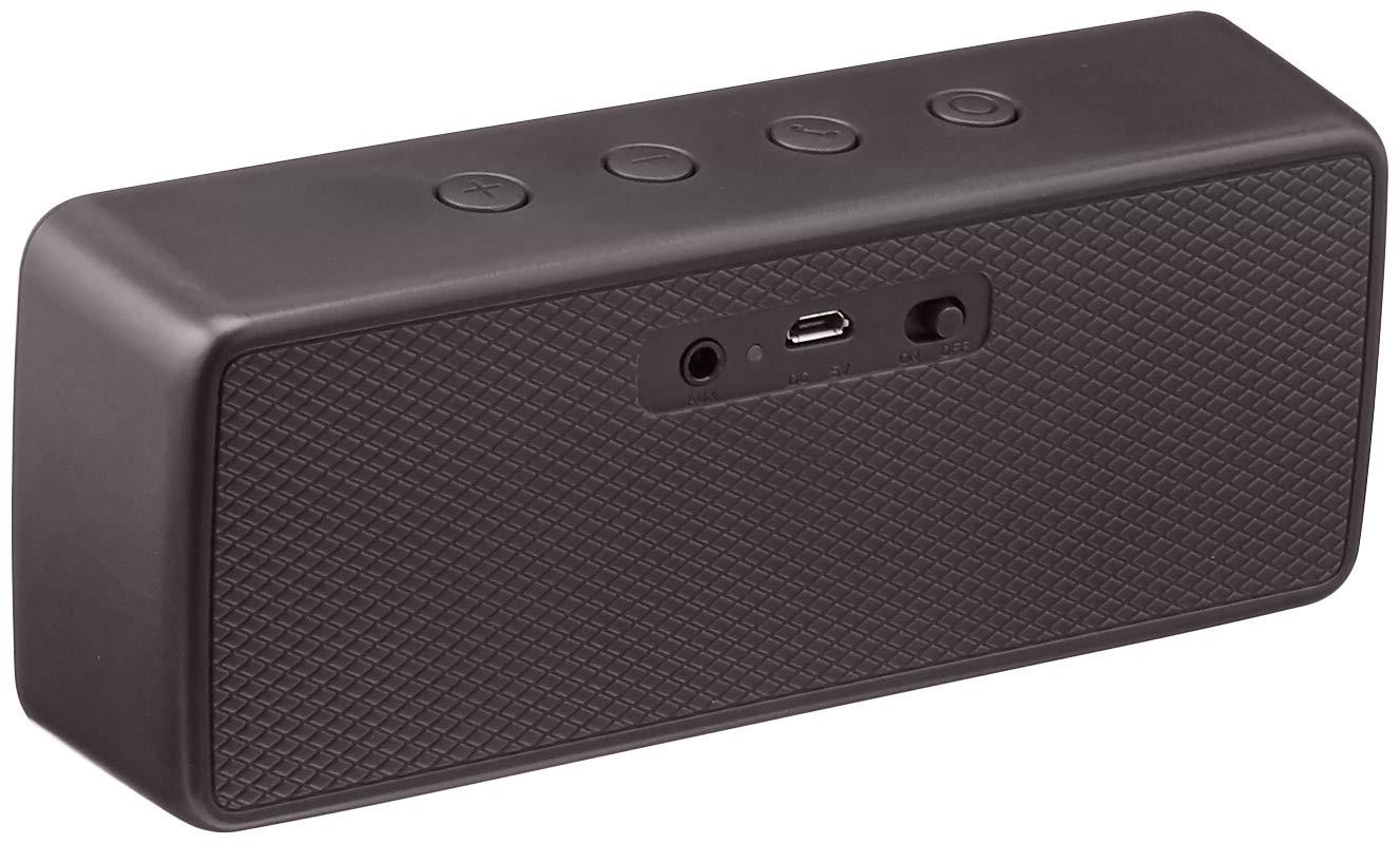 Amazon Com Amazonbasics Portable Wireless 2 1 Bluetooth Speaker Black Electronics