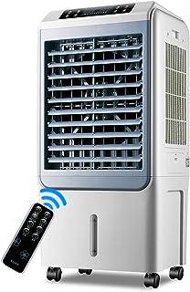 JLN-air conditioner fan Aire Acondicionado Ventilador Suelo de pie Control Remoto Enfriamiento Portátil Humidificación móvil Estable, 150w (Tamaño: 48x36x100cm)