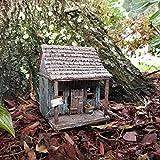 Miniature Fairy Garden House - Fairy Wharf w/hinged Door