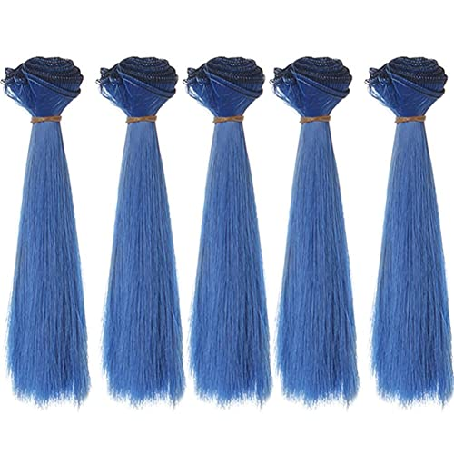 Charitable 15 Cm Long High-temperature Material Natural Color Thick Bjd Multi-colors Straight Hair Wigs Doll Hair Doll Accessories Non-Ironing Dolls Accessories Dolls & Stuffed Toys