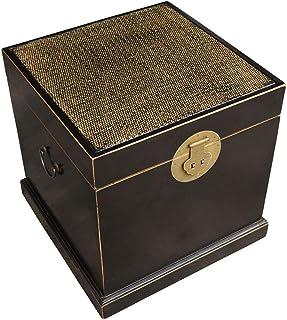 FACAIA Vintage Hand Drawn LP Storage Box, Coffee Shop Book House Gabinete de Almacenamiento de Discos de Vinilo de Madera ...