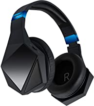 8 Speakers Gaming 3D Stereo Audio Immersive Hi-Fi Surround Sound with Lighting Effects Wireless Low Latency aptX Bluetooth Headphones for Games, VR and Music with Noise-Cancelling Mic and Phone Calls