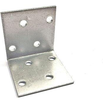 B=15 mm L= 3 x 3 cm Stuhlwinkel 100X Stahl Winkel Verbinder S= 2 mm