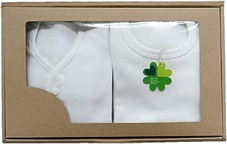 村信 超长长袖连体衣 礼盒装 前开&肩开式 60cm ~ 75cm GB-N7701-2