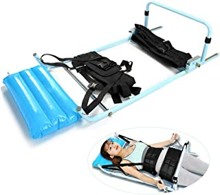 Lumbar Traction Bed, Home Use Cervical Spine Extension Stretcher Device for Physical Therapy Shoulder Acid, Hands & Feet Numbness, Relieving Neck & Lumbar Spondylosis,Shipping from US