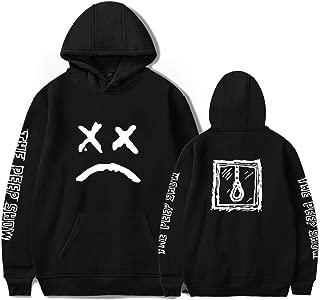 Men's Hoodie, Lil Peep Hooded Round Collar Sweater, Plush Hooded Sweatshirt Unisex