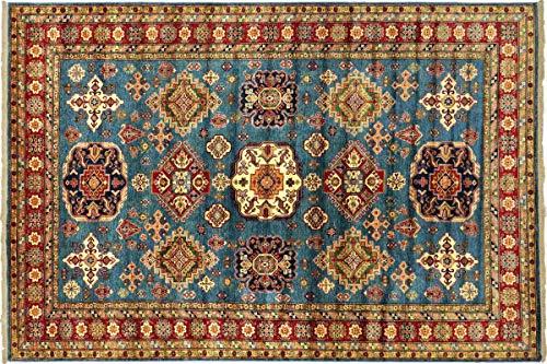 Teppichprinz Alfombra oriental afgana Kazak fina, 323 x 250 cm, tejida a...
