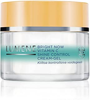 Lumene Bright Now Vitamin C Shine Control CR Gel, 1.7 Fluid Ounce