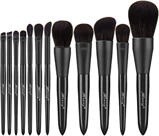 Makeup Brushes Premium Synthetic Foundation Powder Concealers Eye Shadows Makeup 12 Pcs Brush Set, 1 Count