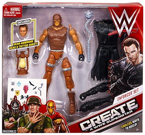 WWE ELITE Seth Rollins /& Dean Ambrose-Mattel Wrestling figures NEUF//coffret 52 48