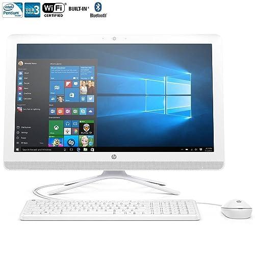 HP 22-b016 All-in-One Desktop (Intel Pentium J3710, 4Gb Ram, 1Tb HDD) with Windows 10