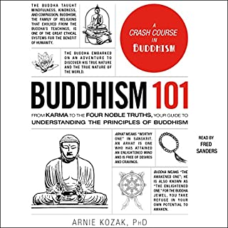 Buddhism 101 audiobook cover art