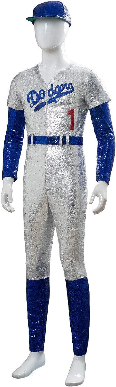 Disfraz De Pelicula para Hombre Uniforme De Beisbol Cosplay ...