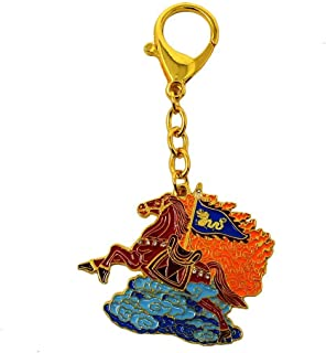 Feng Shui Flying Horse Amulet Keychain W3727