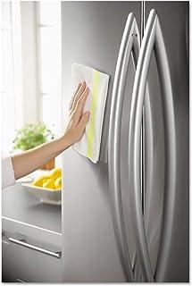 RCP1805729 HYGEN Sanitizer Safe Foodservice マイクロファイバークロス 16 x 19 ホワイト/イエロー