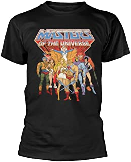 He-Man & The Masters of The Universe 'Group' (Black) T-Shirt