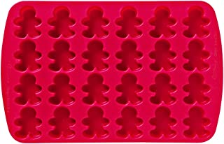 Wilton Gingerbread Boy Silicone Mould - 24 Pack