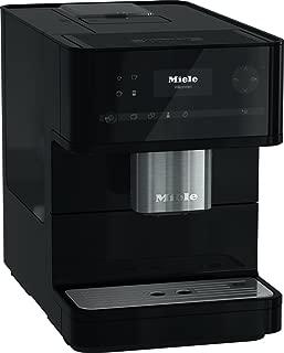 Miele CM6150 Obsidian Black Countertop Coffee Machine (Renewed)