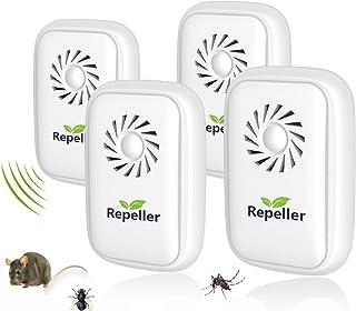 comprar comparacion Repelente Ultrasónico, 2020 Nuevo Plagas Control Interiores, Insectos Antimosquitos Eléctrico Extra Fuerte para Interiores...