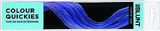 BBLUNT Colour Quickies Clip On Hair Extension, Purple Haze