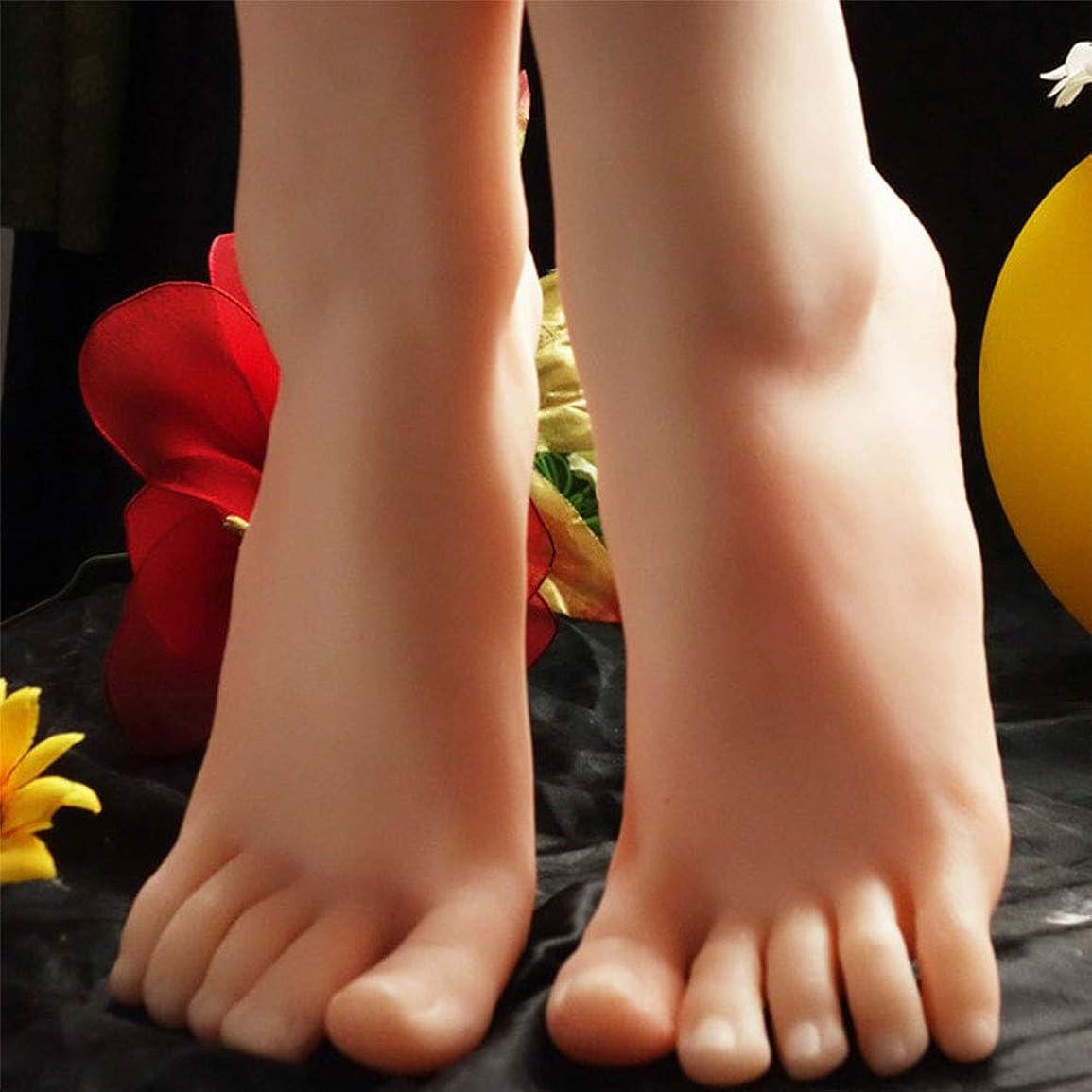 規則性処分したオーストラリアNopositionedアートスケッチ、Wheatcolor用シリコーン足モデルのLifeSize女性のフェイクマネキン、