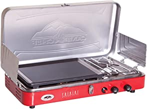 Camp Chef Rainier 2BURNER Stove W/GRIDDL