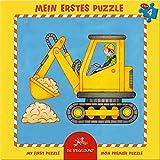 Spiegelburg Puzzle con Marco de 4 Piezas La Excavadora