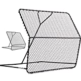 QuickPlay PRO Rebounder – Adjustable Angle Multi-Sport Trainer | Soccer Rebounder or Baseball & Softball Pitch Back | Ideal for Team and Solo Training (7 X 7')