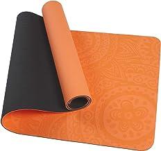 TOM SHOO Gedrukte yogamat TPE yogamat antislip getextureerde oppervlakken Eco-vriendelijke vullingOm pijnlijke knieën te v...