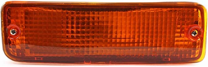 DAT AUTO PARTS Front Signal Light Assembly Replacement for 89-95 Toyota Pickup in The Bumper Right Passenger Side TO2521107