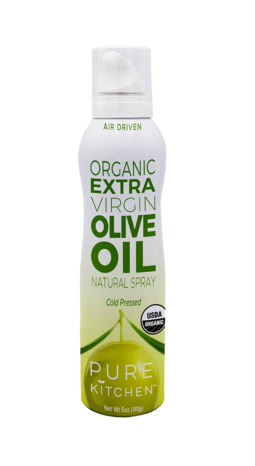 Pure Kitchen Organic Extra Virgin Olive New color Oil Spray Cooking Max 88% OFF