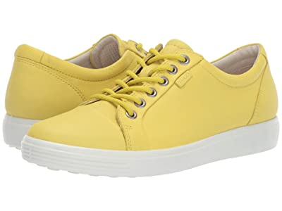 ECCO Soft 7 Sneaker (Canary) Women