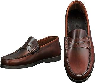 [パラブーツ] コインローファー メンズ靴 ブラウン 茶色 オイルドレザー CORAUXモデル coraux-093603 国内正規取扱