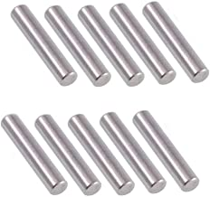 20 Pcs M4x40mm Dowel Pin 304 Stainless Steel Shelf Support Pin Fasten Elements,304 Stainless Steel Cylindrical Pin Locating Dowel Support