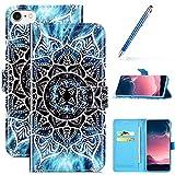 Robinsoni Custodia Compatibile con iPhone 8 Case Portafoglio iPhone 6 / 6S Cover PU Pelle ...