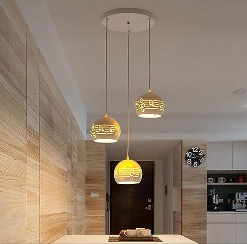 Rétro lustres moderne minimaliste en fer forgé salle à hommeger lustre trois têtes personnalité créative bar salle à hommeger table à hommeger led lampes